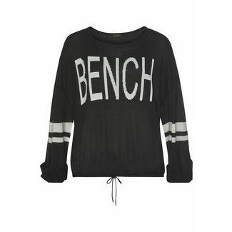 Bench Sweatshirt Damen schwarz-weiß