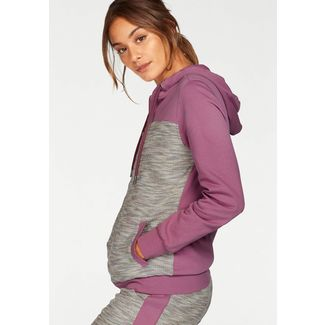 Buffalo Sweatjacke Damen mauve-grey-melange