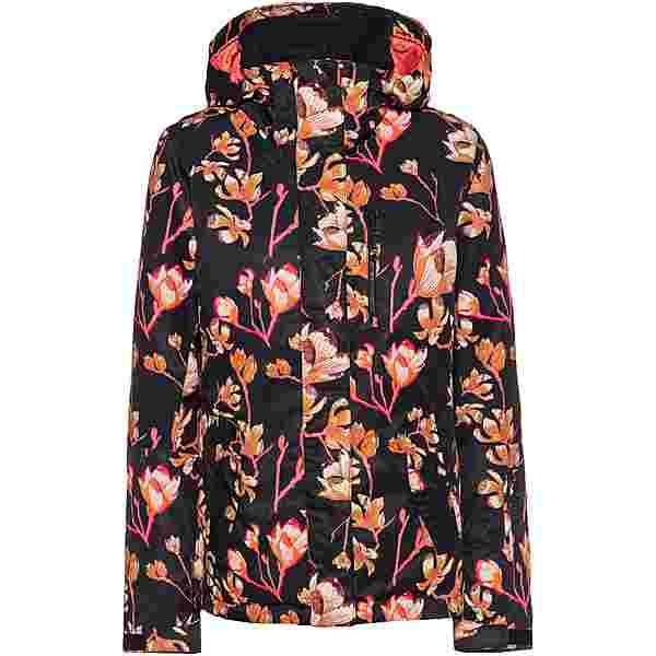 Roxy Jetty Skijacke Damen true black magnolia