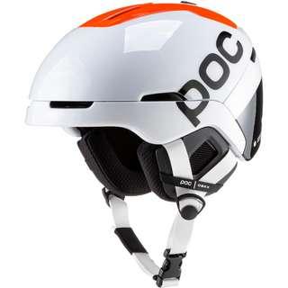 POC Obex BC Spin Skihelm Hydrogen White/Fluorescent Orange AVIP