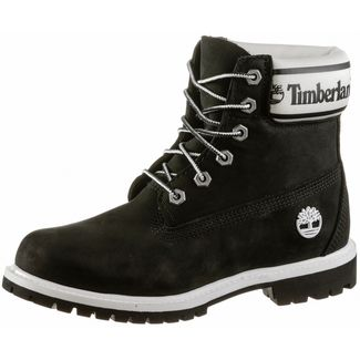 TIMBERLAND 6 Inch Stiefel Damen black nubuck