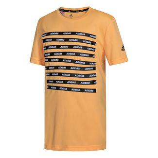 adidas T-Shirt Kinder Flash Orange / Black