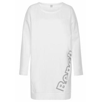 Bench Jerseykleid Damen weiß