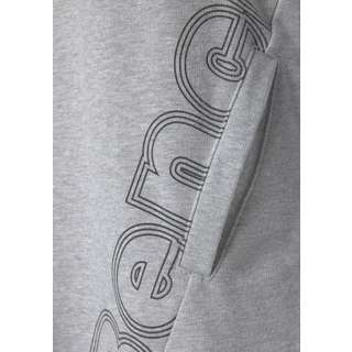 Bench Jerseykleid Damen grau-meliert