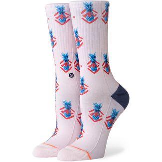 Stance Polka Pineapple Sneakersocken Damen lilaice