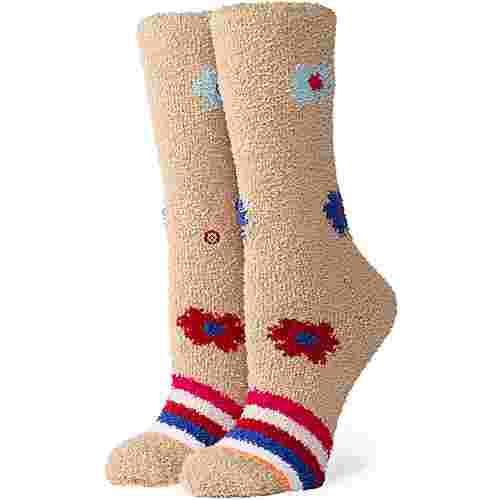 Stance Bundle Up Cozy Crew Sneakersocken Damen tan