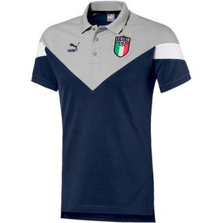 PUMA Italien 2021 Poloshirt Herren peacoat-gray violet