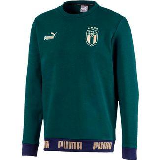 PUMA Italien 2020 Renaissance Pack Sweatshirt Herren ponderosa pine-puma team gold