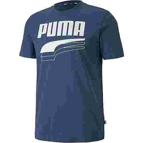 PUMA Rebel Bold T-Shirt Herren dark denim