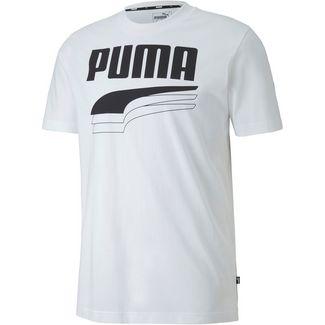 PUMA Rebel Bold T-Shirt Herren puma white-puma black
