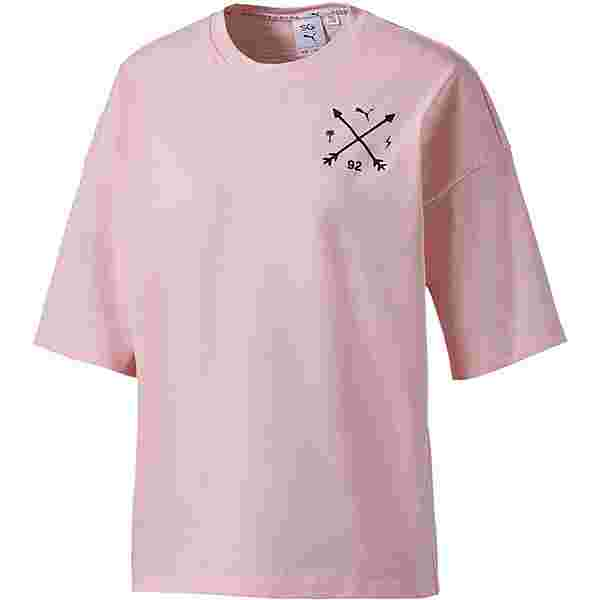 PUMA Selena Gomez T-Shirt Damen beige