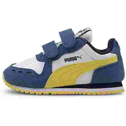 PUMA Cabana Racer SL V Inf Sneaker Kinder puma white-bright cobalt-meadowlark