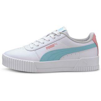 PUMA Carina L Jr Sneaker Kinder puma white-gulf stream