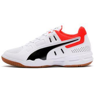 PUMA Auriz Jr Fitnessschuhe Kinder puma white-puma black-nrgy red-gum