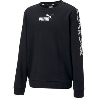 PUMA Amplified Hoodie Kinder puma black