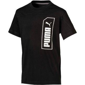 PUMA NU-TILITY T-Shirt Kinder puma black