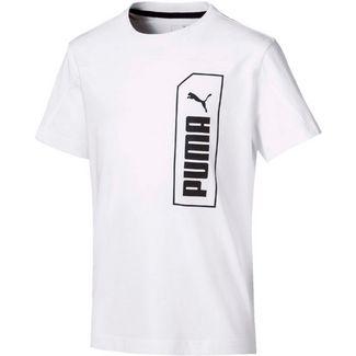 PUMA NU-TILITY T-Shirt Kinder puma white