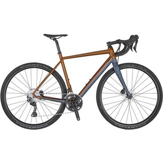 SCOTT Speedster Gravel 20 Rennrad gingerbread brown- dark blue