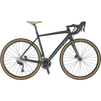 SCOTT Speedster Gravel 30 Rennrad dark green metalic chamo green