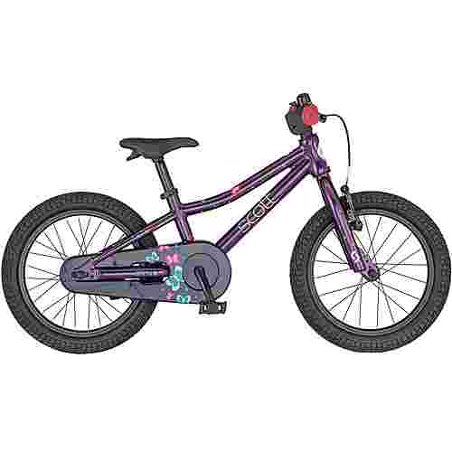SCOTT Contessa 16 MTB Hardtail Kinder deep purple