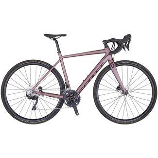 SCOTT Contessa Speedster Gravel 25 Rennrad Damen oyster pink-cassis purple