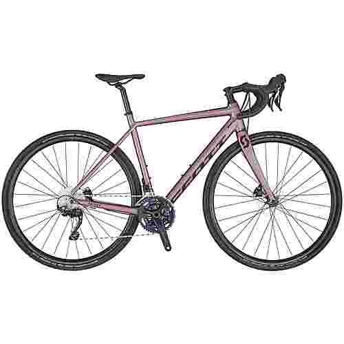 SCOTT Contessa Speedster Gravel 25 Rennrad Damen oyster pink-cassis purple