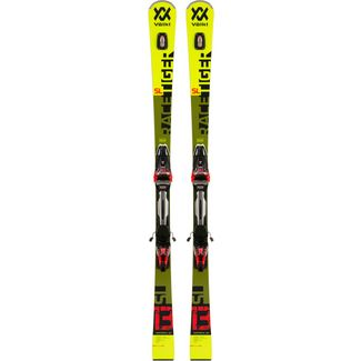 Völkl RACETIGER SL + RMOTION2 12 GW Race Carver Herren yellow-green