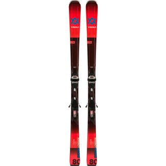 Völkl DEACON 80 +LOWRIDE XL 13 FR DEMO GW Race Carver Herren black-red
