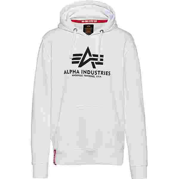 Alpha Industries Hoodie Herren white