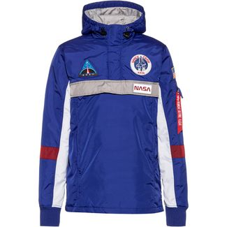 Alpha Industries Space Camp Windbreaker Herren nautical blue