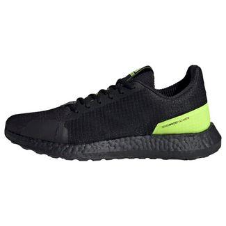 adidas Sneaker Herren Core Black / Core Black / Solar Yellow