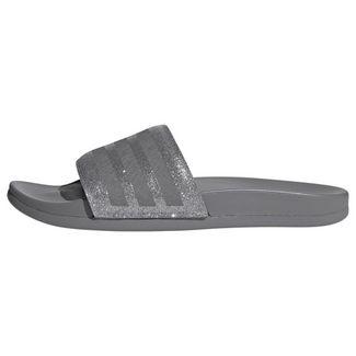 adidas Adilette Comfort Slides Sandalen Damen Grey Three / Grey Three / Platin Met.
