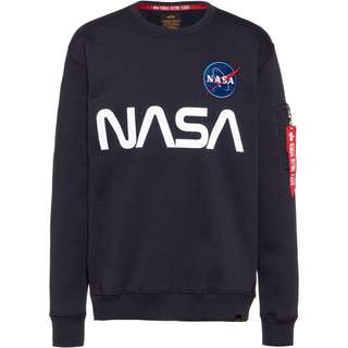 Alpha Industries NASA Sweatshirt Herren rep blue