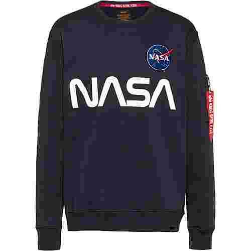Alpha Industries NASA Sweatshirt Herren rep blue