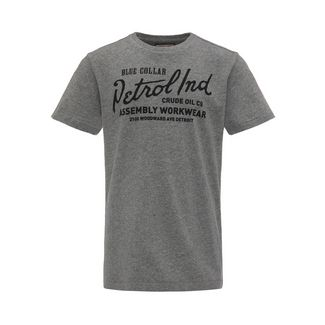 Petrol Industries T-Shirt Kinder Light Slate Melee