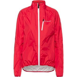VAUDE Drop III Fahrradjacke Damen strawberry