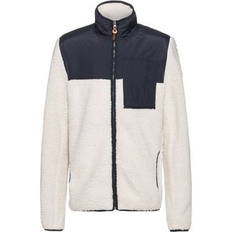 Element Abenaki Fleecejacke Herren white smoke