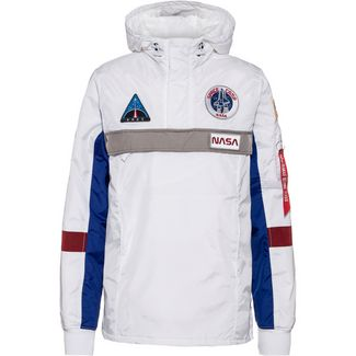 Alpha Industries Space Camp Windbreaker Herren white