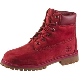 TIMBERLAND 6 Inch Premium Junior Boots Damen medium red nubuck