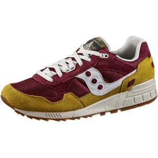 Saucony Shadow 5000 Sneaker Herren maroon-yellow-white