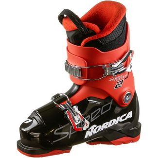 Nordica SPEEDMACHINE J 2 Skischuhe Kinder black-red