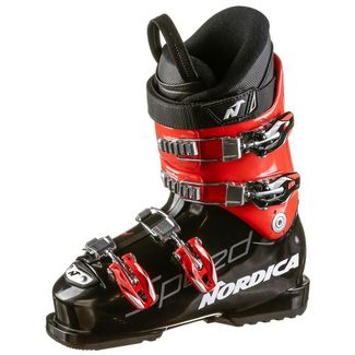 Nordica SPEEDMACHINE J 4 Skischuhe Kinder black-red