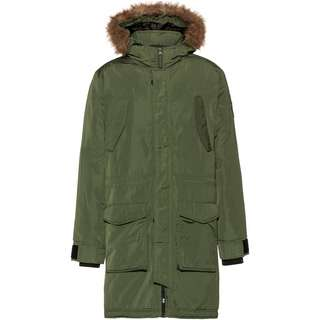 Crosshatch Longpar Parka Herren forest green