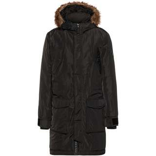 Crosshatch Longpar Parka Herren black