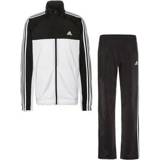 adidas Trainingsanzug Herren white-black