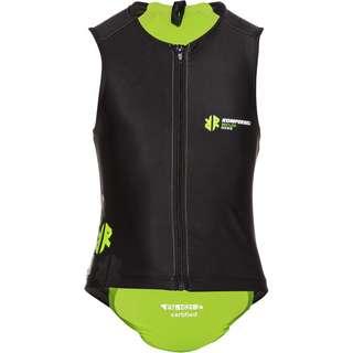 KOMPERDELL Junior Super ECO Vest Protektorenweste Kinder schwarz-lime