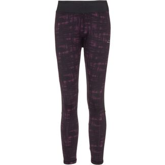 VENICE BEACH Curvy Fit Malaga Tights Damen black bordeaux