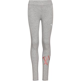 PUMA Alpha Tights Kinder light-grey-heather