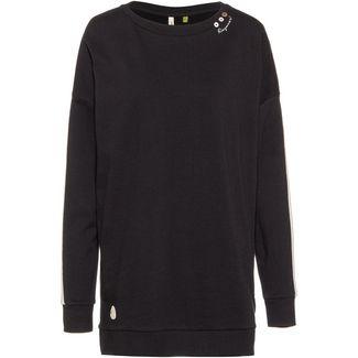 Ragwear Lekyta Solid Organic Sweatshirt Damen black