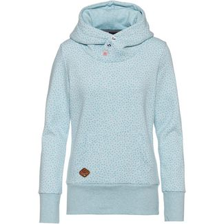 Ragwear Chelsea Drop Hoodie Damen light blue